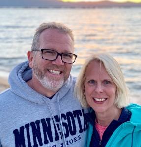 Jeff and Christine at South Lake Tahoe 2019